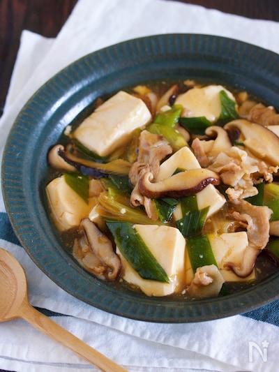 豆腐 豚 バラ