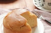 米粉で作るしっとりケーキ(グルテンフリー)