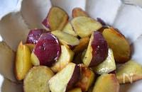 さつま芋がほっこり♡【塩大学芋】塩味で食べだしたら止まらない
