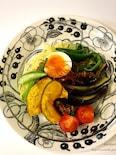 <パパッと♪簡単>肉味噌de夏野菜たっぷりジャージャー麺