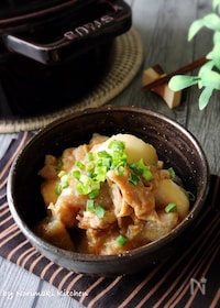 『里芋と豚肉のこっくり味噌煮』