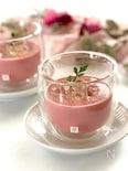 ビーツの冷製ポタージュスープ和風味(ストウブ料理)