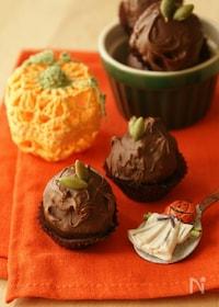 『Happy Halloween♪~ パンプキントリュフチョコ』