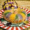 【King Cake】はカラフルで美味しいマルディグラに欠かせないお菓子パン!