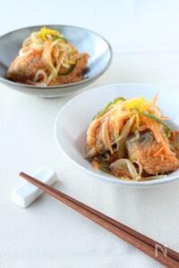 柚子風味 鮭の和風甘酢マリネ