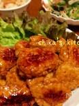 豆腐でふわ♪蓮根でシャキ♪甘辛タレが美味いてりてりつくね♥︎