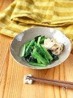 小松菜と湯葉のおひたし