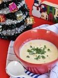マッシュポテトのコーンポタージュスープ
