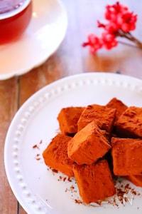 【手作りバレンタインチョコ】生チョコクリームチーズのレシピ