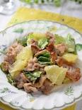豚肉とグレープフルーツの爽やか炒め☆リラックス効果&疲労回復