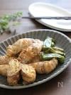 味噌もみキャベツの肉巻きマヨ焼き。