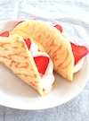ホットケーキミックスで☆簡単オムレットケーキ