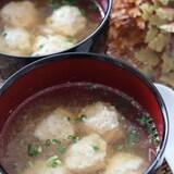 栄養たっぷり!身体もポカポカ♡鶏団子入りみぞれスープ