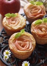 『母の日に『バラ』のケーキ*HMで簡単*しっとりふわふわ』