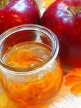 りんご蜂蜜入りジンジャージャム♪
