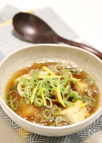 『胃に優しくてほっこり♪豆腐のみぞれ煮』