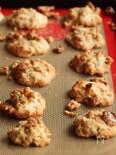 ベーキングパウダー不使用!くるみのメープルクランチクッキー