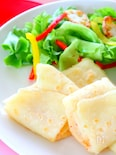 【簡単】もち明太チーズブリトー