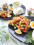 枝豆を楽しむ♪夏の和ランチ④枝豆のかき揚げ