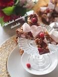 【固めるだけ簡単】くるみとマシュマロのチョコレート