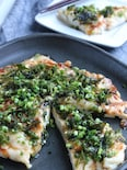 低糖質でヘルシー♪しっとり柔らか鶏生地で照り焼きチキンピザ