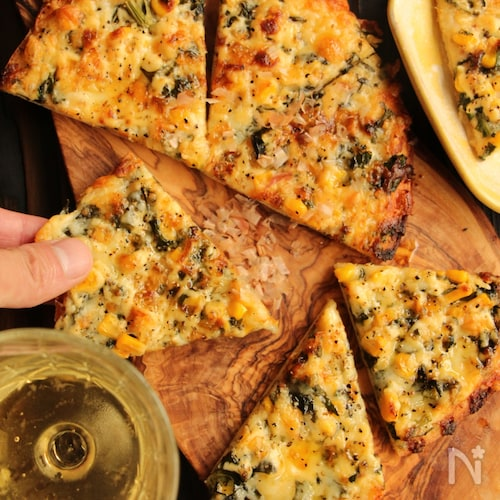 みんな大好き!マヨコーンピザ