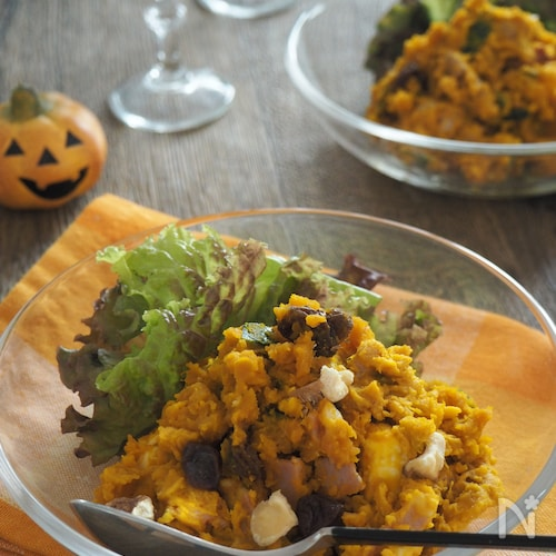 サラダ レンジ かぼちゃ 【レンチンで簡単】かぼちゃのレシピ5選。電子レンジで全部できちゃう!