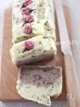 【ライスミルク×米粉】桜と小豆あんの二層パウンドケーキ