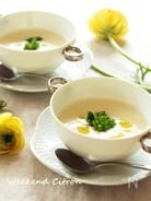 新玉ねぎのポタージュスープ