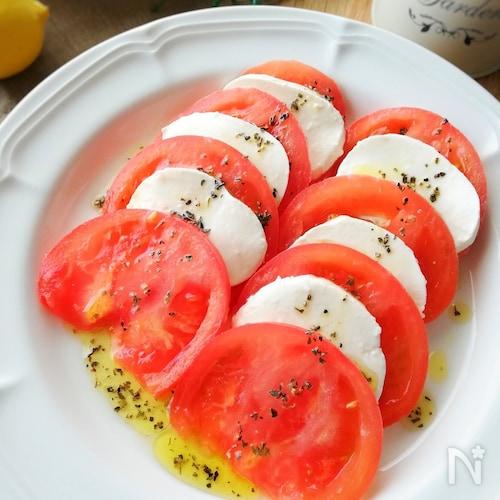 超簡単!超美味*トマトとモッツァレラのカプレーゼ