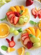 季節のフルーツパンケーキ♪