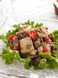 レンズ豆とメカジキのマリネサラダ☆作り置きデリサラダ