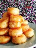 ふかふか豆腐ドーナツ☆卵牛乳なし、フライパンで
