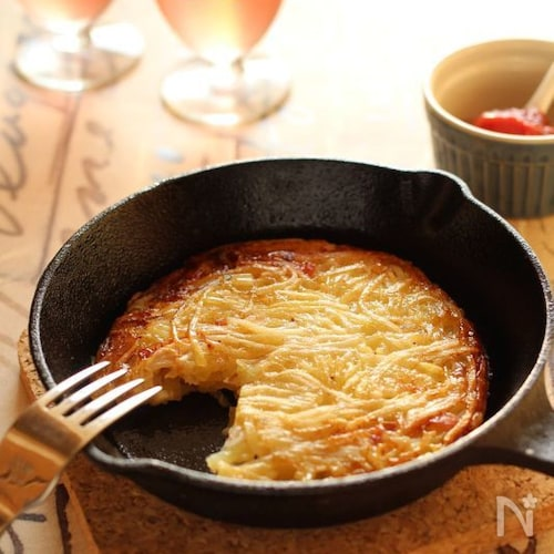 ポテト&ベーコン・ガレット