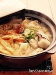 かきのキムチ鍋*『ひらひら大根鍋』
