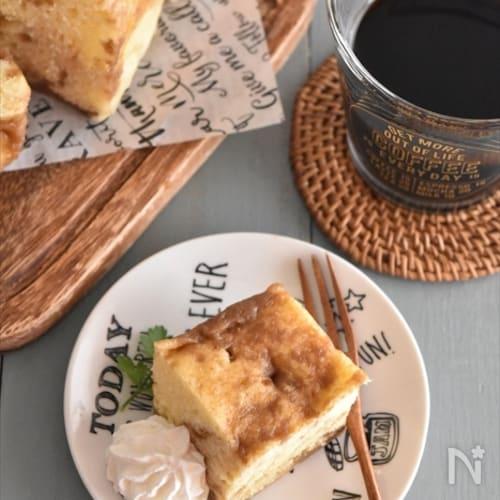 市販のコーヒーゼリーで♪レンチン3分!マーブルコーヒーケーキ