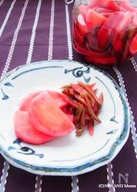 『赤かぶの甘酢漬け』