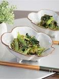 小松菜の食べラーポン酢和え