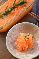 基本材料3つ♡人参が美味しく食べれる♡オレンジジュース漬け♡