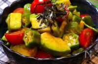 【夏野菜をまとめて食べよう!!】彩野菜のマリネ