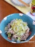フライパンで簡単♡ごま油香る白菜と牛肉のさっと煮
