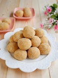 米粉のホロホロきな粉スノーボール