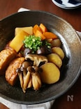 根菜ときのこのホクホク煮物