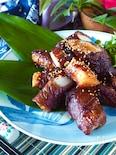 少ない牛肉ボリュームUP!ホクホク長芋のスタミナ牛肉ロール