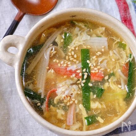 3分で作れる♡『三食中華スープ』