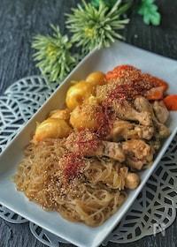 『*チムタク(鶏の甘辛煮)韓国料理*』