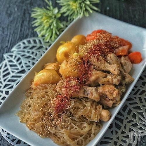 *チムタク(鶏の甘辛煮)韓国料理*