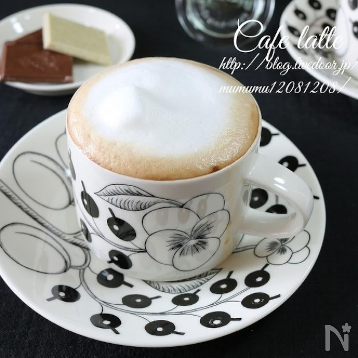 美味しい カフェ オレ の 作り方