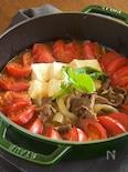 【だし不要・簡単】牛肉とトマトのすき煮