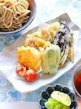 夏野菜の天ぷらと冷たいお蕎麦の作り方